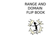 Domain and Range Practice Flip Book