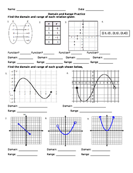Day 05 HW   Functions  Domain  Range  Increasing  Decreasing in addition Alge 1 Worksheets   Domain and Range Worksheets likewise Function Domain And Range Worksheet   Surlatoile info likewise Domain  Range And Functions   Lessons   Tes Teach as well Domain and Range Practice Worksheet by Marissa Rodriguez   TpT together with Ionic Bonding Practice Worksheet Math Worksheets For Grade 2 additionally math quiz alge 2 – arbysdayton likewise Domain And Range Practice Worksheet The best worksheets image also  further  together with Domain And Range Of A Graph Worksheet Free Worksheets Liry besides IXL   Domain and range  Precalculus practice in addition Alge 1 Worksheets   Domain and Range Worksheets in addition  further Domain And Range Worksheet 1   Yooob org likewise domain and range worksheet 650 841   Domain And Range Practice. on domain and range practice worksheet