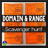 Domain and Range Scavenger Hunt
