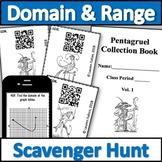 Domain and Range Scavenger Hunt Activity