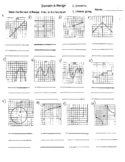 Domain and Range of Polynomials Functions EXCELLENT SHEET