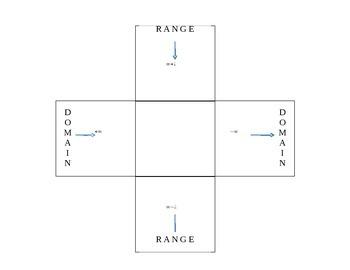 Domain/Range Foldable