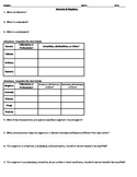 Domains & Kingdoms Classification Worksheet