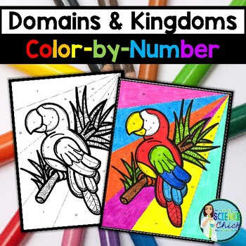 Domains & Kingdoms Color-by-Number