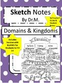 Domains & Kingdoms Sketch Notes W/Tcher Guide, Notes & Stu