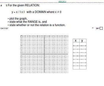 Domains of HS FUNCTIONS: 124 level 4 (most CHALLENGING) problems (27 pgs)