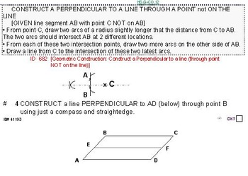 Domains of HS GEOMETRY (Grades 9-11) Summary & 6 worksheets