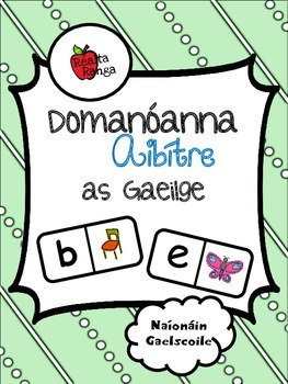 Domanóanna Aibítre as Gaeilge // Alphabet Dominoes in Irish