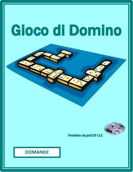 Domande (Question words in Italian) Dominoes