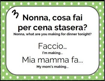 Domande per Nonna - Italian Conversational Topics for New Learners