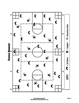 Dome Soccer - Large Group PE Activity