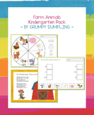 Domestic Animals - Kindergarten Activity Pack