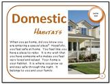 Domestic Habitats Wanted and Unwanted Animal Homes PDF Presentation