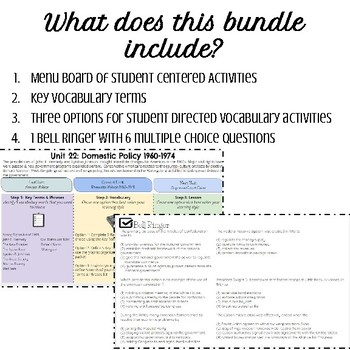 Domestic Policy Bundle