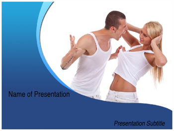 Domestic Violence PPT Template