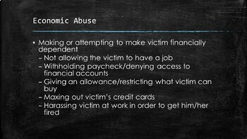 Domestic Violence Resource Bundle (October is Domestic Violence Awareness Month)