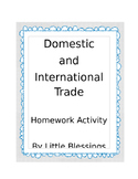 Domestic and International Trade