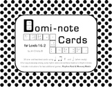 Domi-note Cards for Levels 1-2, Three Rhythm Games