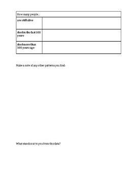 Dominant Narrative Interactive Notebook Pages