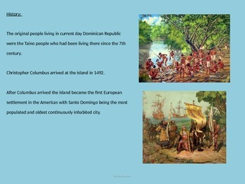 Dominican Republic - Power Point - History Facts Culture Pictures Information