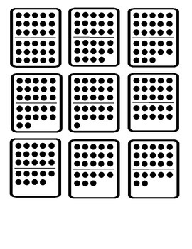 Domino 20 to 30 Clipart