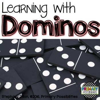 Domino Activity Printables for First Grade {Ready, Set, Print!}