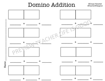 Domino Addition 1