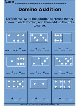 FREE Domino Addition