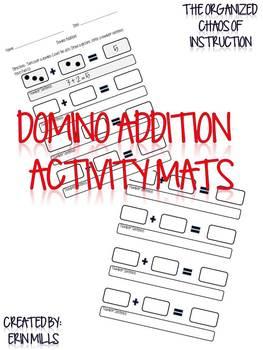 Domino Addition-Activity Mats