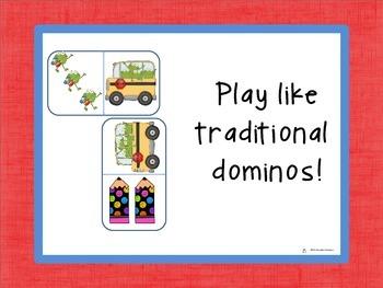 Domino Addition: Back to School Edition