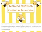 Domino Addition Calendar Pieces- AAB Pattern (Calendar Numbers)