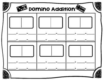 Domino Addition Commutative Property