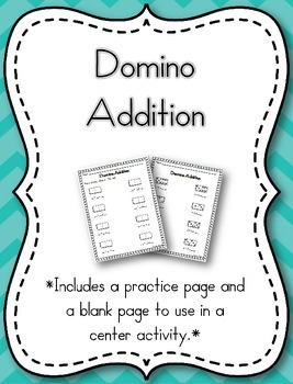 Domino Addition {FREEBIE}