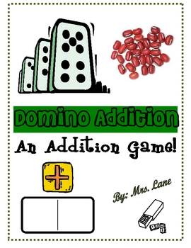 Domino Addition Game! (Great Center or Workstation!)