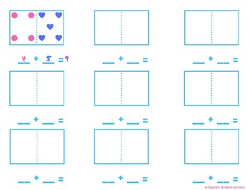 Domino Addition (Individual Math Activity, Center Choice and/or Whole Group)