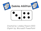 Domino Addition - Kindergarten Math Fun
