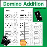 Domino Addition Math Addition Activity
