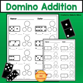 Domino Addition Math Activity