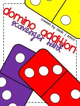 Domino Addition Scavenger Hunt!