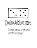 Domino Addition Sheets