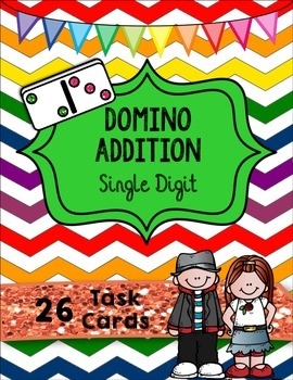 Domino Addition Single Digits