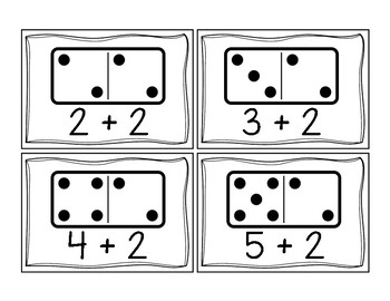 Domino Addition Sorting Activity