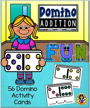 Domino Addition Wipe Off Activity Cards