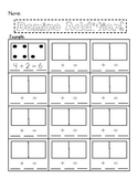Domino Addition {Worksheet}