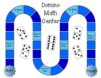 Domino Addition and Fact Families {Lesson Plans and Math Center Included!}