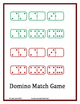 Domino Addition and number sense fun