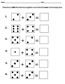 Domino Addition to 12