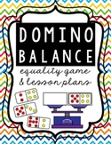 Domino Balance Equality Game and Guided Math