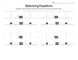 Domino Balancing Equations