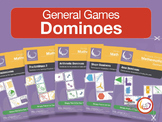 Domino Bundle 1 | 5 Domino Games for Basic Math - Fraction
